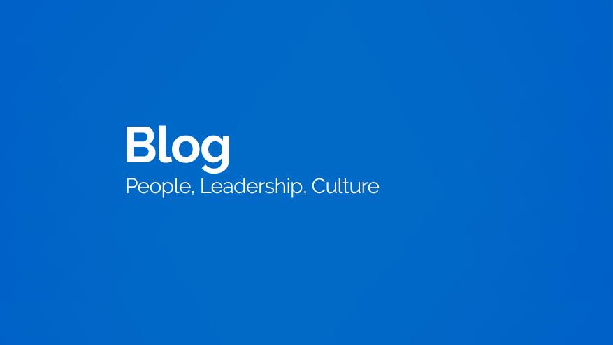 BuildYourCulture, Blog