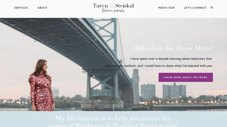 Resilience Leadership, Dr. Taryn Stejskal
