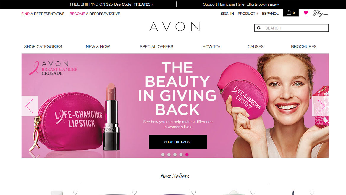Avon, Mission, Vision, Values. Corporate Culture